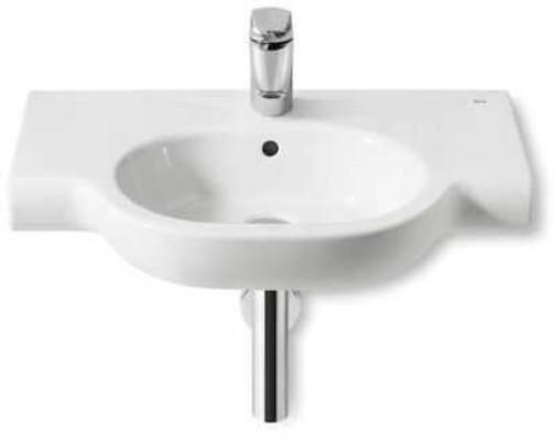 biała umywalka łazienkowa Laufen