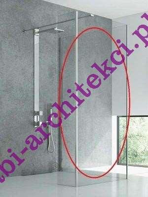 kabina prysznicowa bez brodzika Cersanit